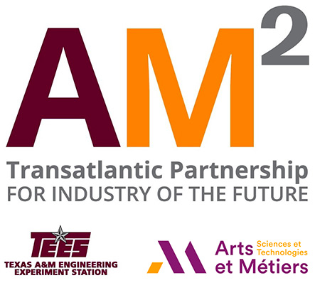 AM² - Arts et Métiers Institute of Technology and Texas A&M, the AM² Transatlantic Partnership.